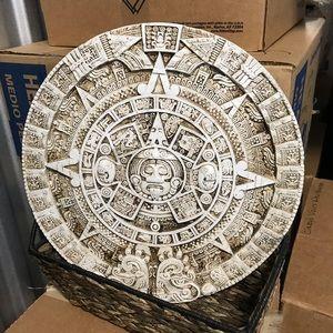 Aztec Garden Stone/Hanging Plaque